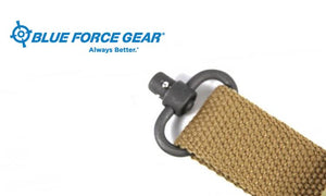"Blue Force Push Button Sling Swivel - 1.25"" #P-PB-125"
