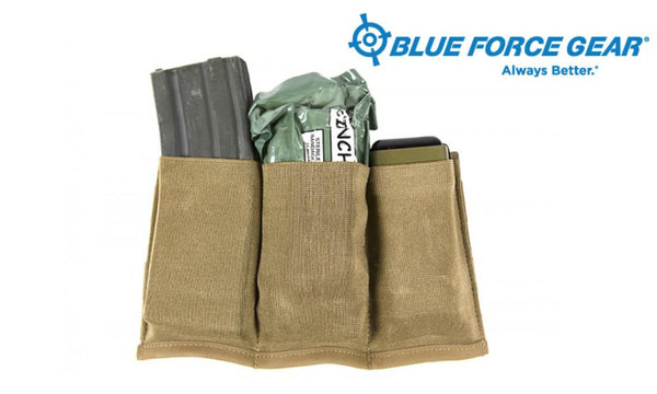 Blue Force Ten-Speed Triple M4 Mag Pouch #HW-TSP-M4-3