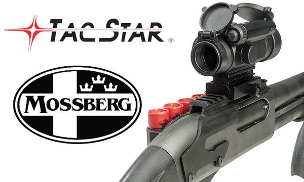 TacStart Shotgun Sidesaddle Rail Mount with Integrated Shell Holder, Mossberg Models #1081029