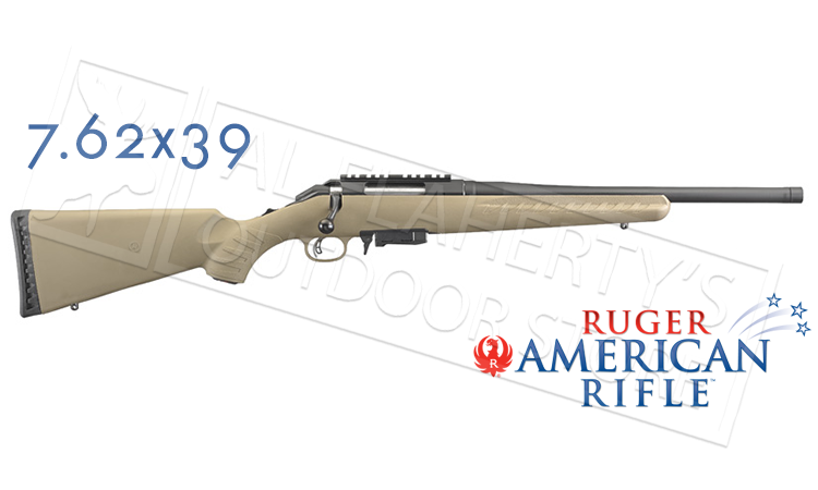 RUGER AMERICAN RANCH RIFLE FDE 7 62X39 Now Available! - Page 2
