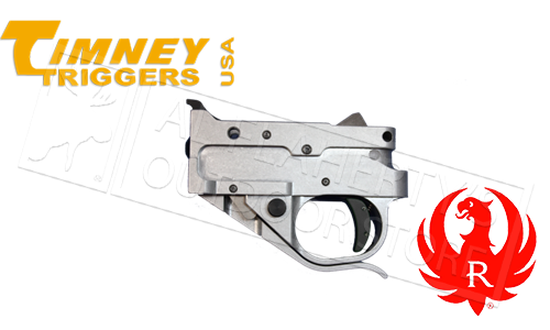 Timney Triggers Ruger 10/22 Replacement Trigger Group; Black #1022-1C or Silver #1022-1c-16