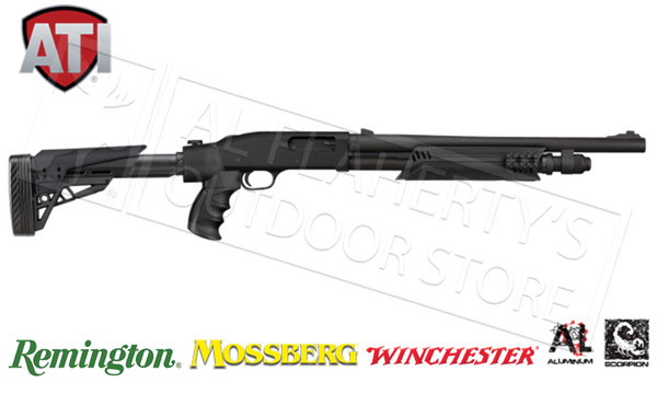 ATI  #B.1.10.1135 Strikeforce Side-Folding Shotgun Stock For Remington Mossberg and Winchest Pump-Action