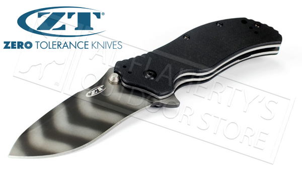 Zero Tolerance 0350 Tiger Stripe Folding Knife #0350TS