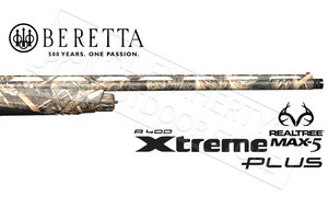 "Beretta A400 Xtreme Plus Shotgun in Max5 Camo, 12g 28"" Barrel"