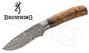 Browning Storm Front Damascus Big Belly Skinner #322218