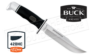 Buck 75th Anniversary 119 Special Fixed Blade with Black Handle #0119BKS-B