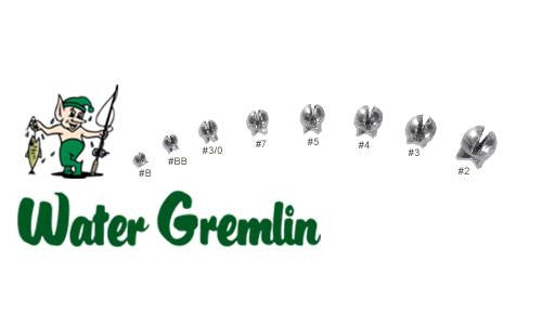 Water Gremlin Green Removable Split Shot, Size 3, Zip Lip Pack of 12 #ZPSS-3
