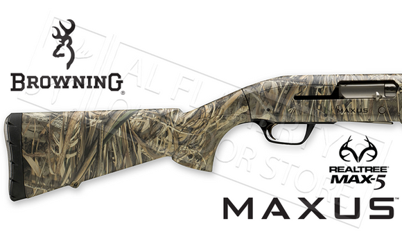 "Browning Maxus 12 Gauge, 3.5"" Chamber, 28"" Barrel, Realtree Max5 Camouflage #011653204"