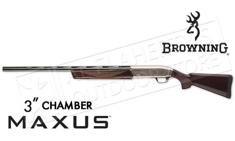 "Browning Maxus Hunter 12 Gauge, 28"" Barrel, 3"" Chamber with Walnut Stock #011608304"