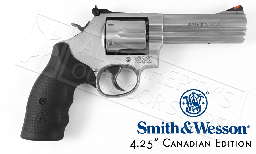 "Smith & Wesson 686 .357 4.2"" Canadian #164107"