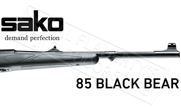 Sako 85 Black Bear with Sights