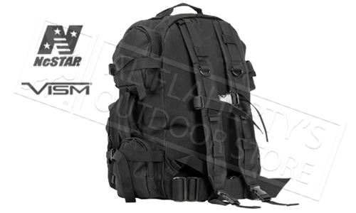 VISM Tactical Backpack Black #CBB2911