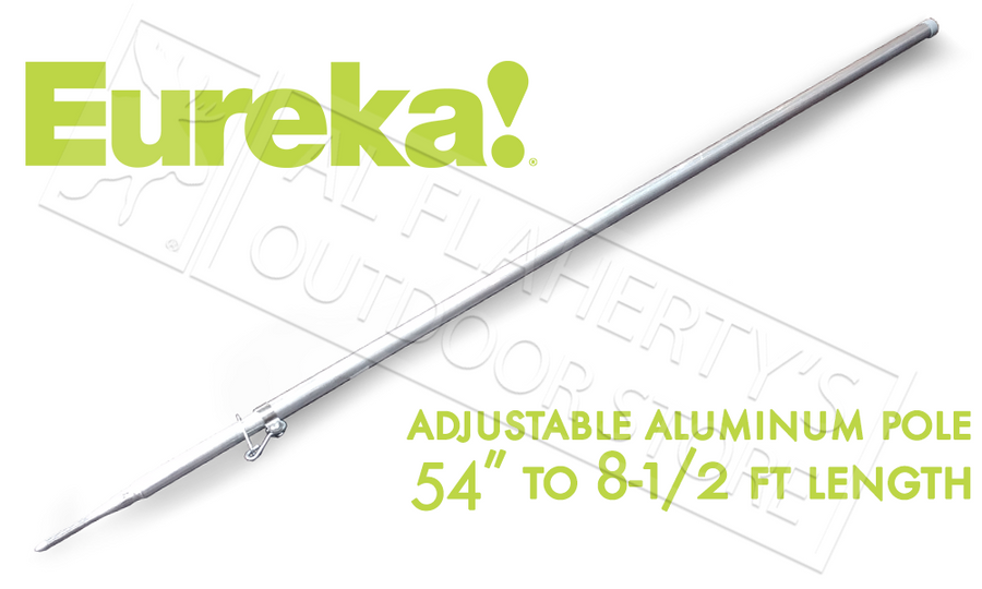 Eureka Tent Pole Adjustable Aluminum 8' #2660408