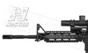 NcStar AR15 Carbine Length Quad Rail #MAR4S