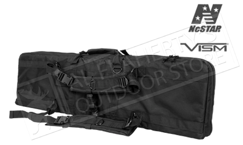 NcStar VISM Double Carbine Case with Backpack Straps #CVDC2946B