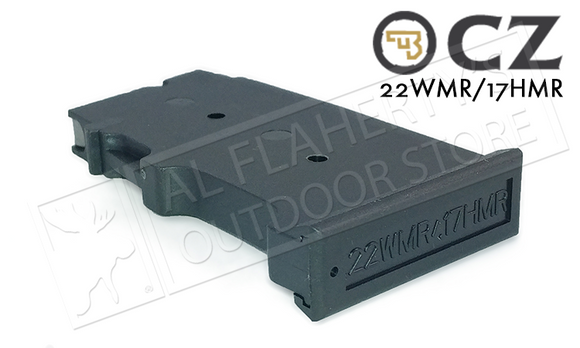 CZ 455 or 512 Magazine 17hmr .22WM 10 Round Polymer #5073-1200-8802ND
