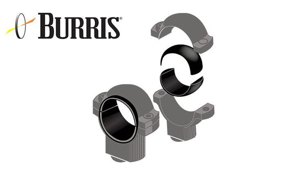 "Burris Signature Rimfire .22 Rings with Pos-Align Inserts, High, 1"" #420556"