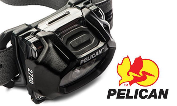 Pelican 2750 LED Headlight, 63 to 193 Lumens with Red LED