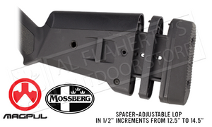 Magpul #MAG490 SGA Stock for Mossberg Shotguns #MAG490-BLK