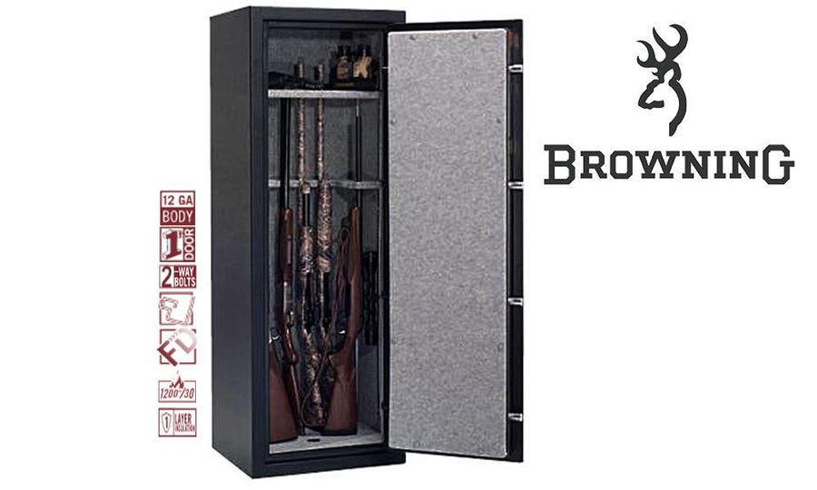(Store Pickup Only) - Browning Limited Edition 12-Gun Safe, 58x21x17 - LTD12, #023614456124