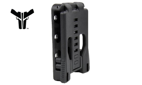 Blade-Tech Double Mag Pouch for Glock 10mm & 45ACP Magazines AMMX002406081136