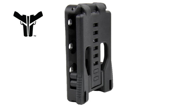 Blade-Tech Double Mag Pouch - for Glock 10/45 RH with Tek-Lok #AMMX002406081136