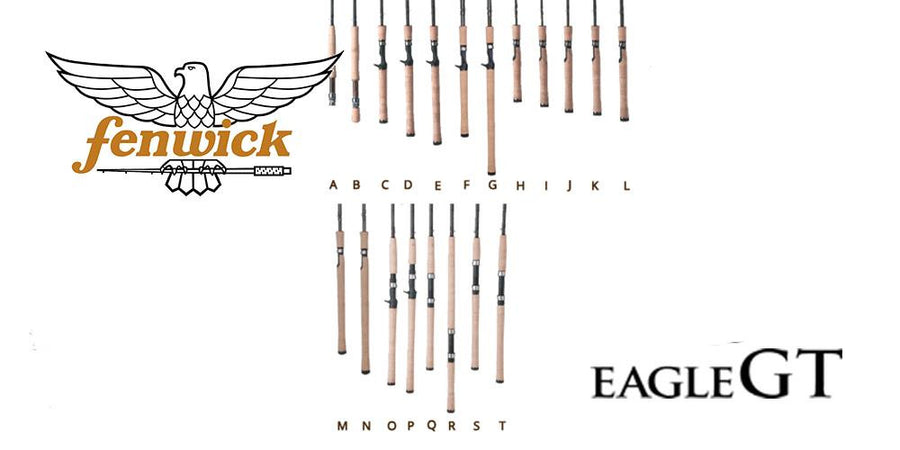 Fenwick Eagle Spinning Rods