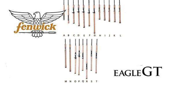 Fenwick Fishing Rod Eagle GT Handle Guide