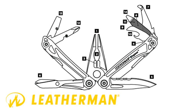 Leatherman Wingman Multi-Tool #831436