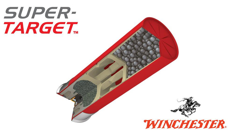 "<b>(Store Pickup Only)</b><br>12 Gauge, Winchester Super-Target, #8, 2-3/4"", 1-1/8 oz. 3 Dram, Case of 250 #TRGT12M8 - Case"
