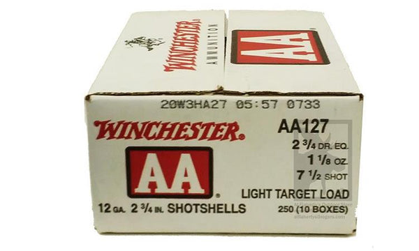 "<b>(Store Pickup Only)</b><br> 12 Gauge, Winchester AA, #7.5"", 2 3/4"", Case of 250 #AA127 - Case"