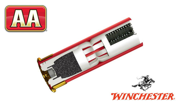 "<b>(Store Pickup Only)</b><br>12 Gauge, Winchester AA, #8, 2-3/4"", 1-1/8 oz., Case of 250 #AA128 - Case"