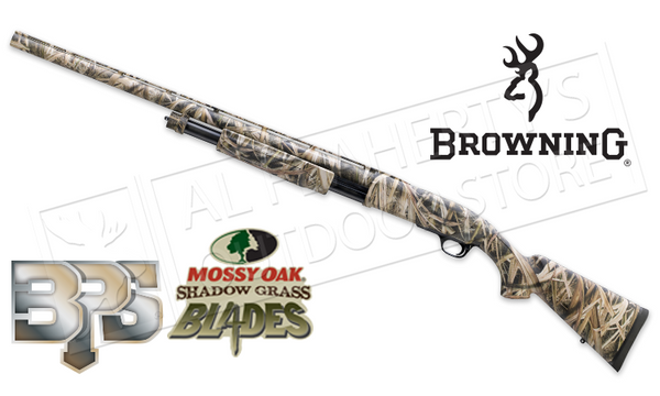 "Browning BPS 12 Gauge, 28"" Barrel, 3"" Chamber, Mossy Oak Shadow Grass BLADES Camo #012271304"