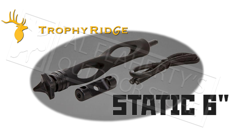 "Trophy Ridge Static 6"" Bow Stabilizer #AS1306B"