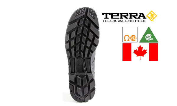 "Terra Argo 8"" Safety Boot, Metal Free, Made in Canada #2974B"