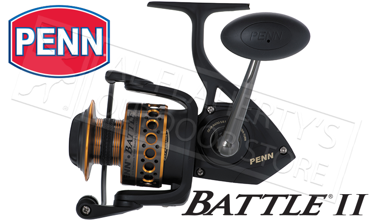 Penn Fishing Reel Battle II Spinning Saltwater #BTLII4000 #BTLII5000 #BTLII6000