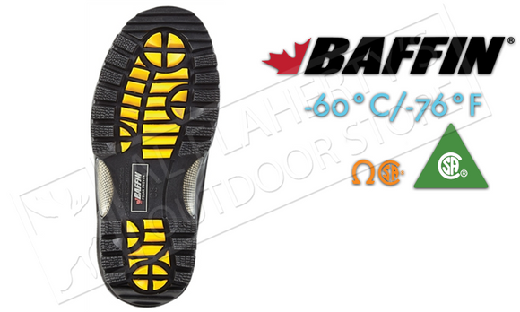 Baffin Footwear Workhorse Safety Boot -60C Rated #71570238