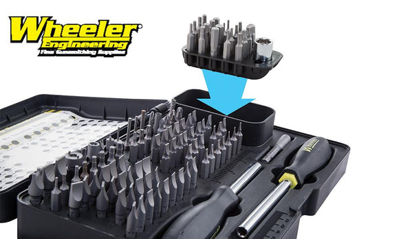 Wheeler 21 Piece Add-On Screwdriver Bit Set, Hex & Torx #954671