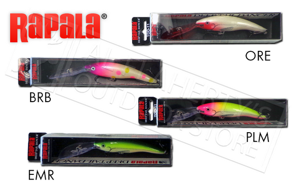 Rapala Deep Tail Dancer - TDD11 - Limited Run Colours!
