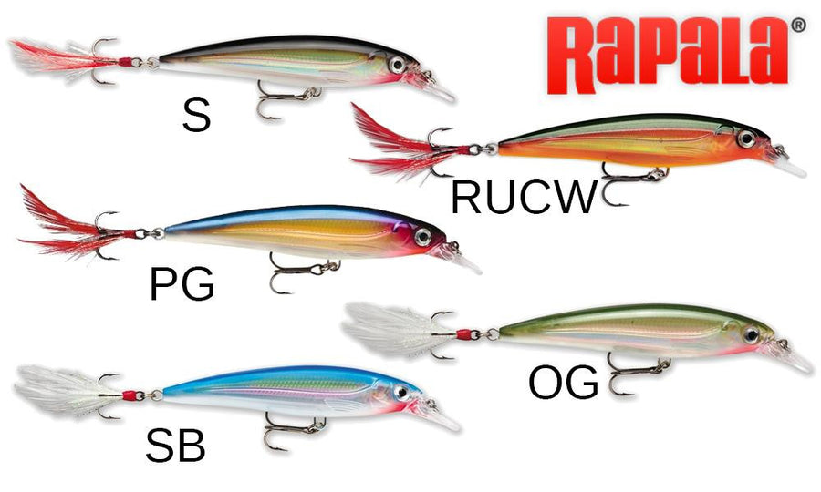"Rapala X-Rap XR10 - 4"", 7/16 oz., 4'-6' Depth"