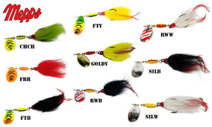 Mepps Bucktail Musky Killer, 3/4 oz. #BM5