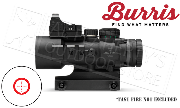 Burris AR-536 Prism Sight with Illuminated Ballistic CQ Reticle #300210