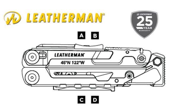 Leatherman Signal Multi-Tool, Includes Nylon Sheath #832265