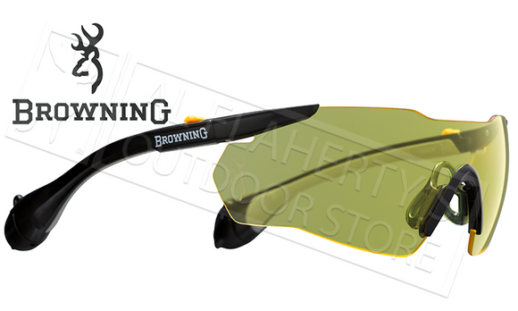 Browning Sound Shield Eye & Ear Protection Combo, Yellow or Clear #1274