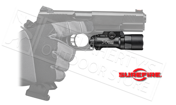 Surefire X300 Ultra LED WeaponLight, 600 Lumens #X300U-B