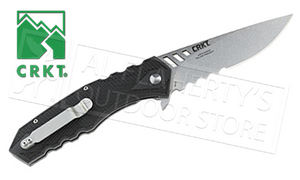 CRKT Ruger Follow-Through Folder with Serrated Blade #R1702