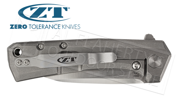 Zero Tolerance 0808 Folding Pocket Knife by Todd Rexford #0808