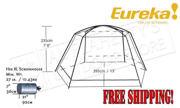 Eureka Hex XL Screenhouse #2599469