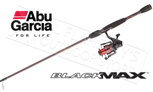 "Abu Garcia Black Max Spinning Combo, 6'6"" Medium Action 2-Piece #BMAXSP30/662M"