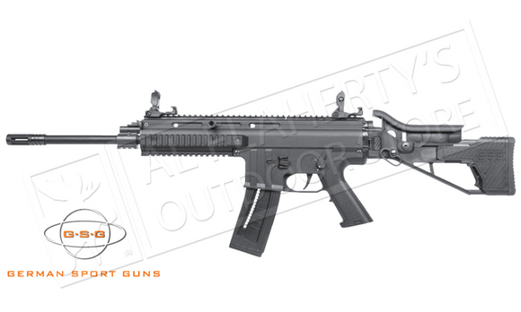 GSG GSG-15 SCAR Rimfire Rifle Black or Tan #R04GSG15